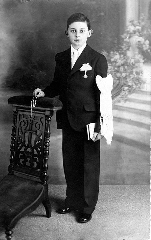 1936 Paris Communion de mon pere- Henri Queffelec