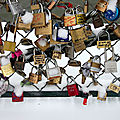 Cadenas, Pont des arts, Neige_5007