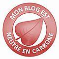 Impact carbone de mon blog !?