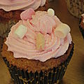 Cupcakes aux marshmallows