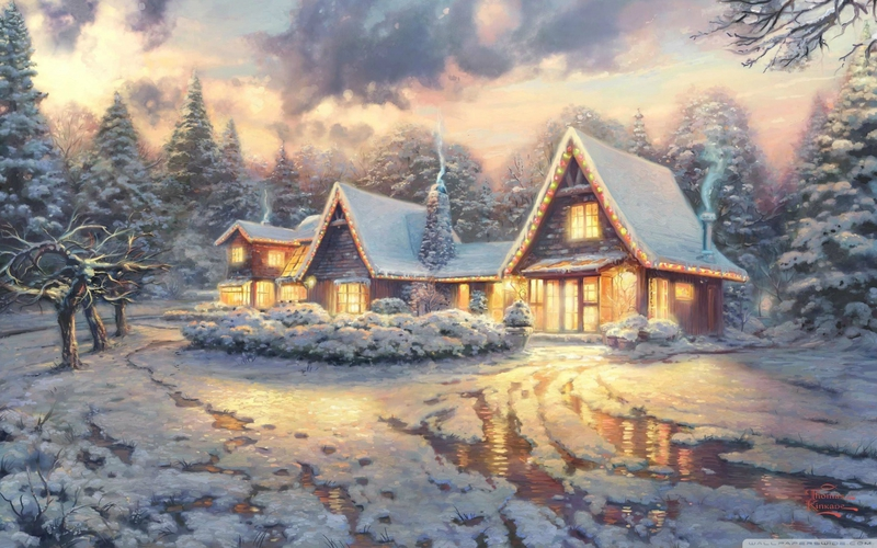 christmas_lodge_by_thomas_kinkade-wallpaper-1440x900