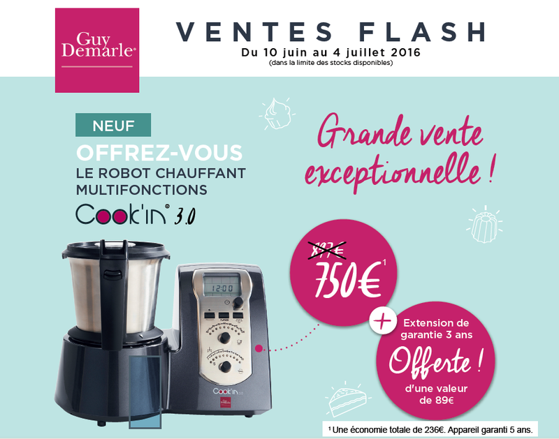 vente flash cook'in1