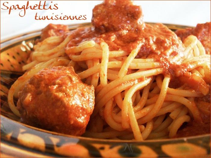 spaghettis tunisiennes 1