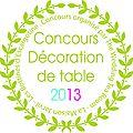 Concours décoration de table !