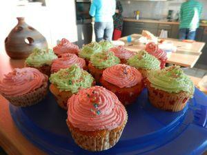 Les cups cakes de Nadine!