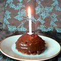 Dômes chocolat-mousse de potimarron sur fond croustillant