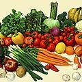 Voici la liste des fruits et légumes biologique disponible pour la semaine du 17 mars