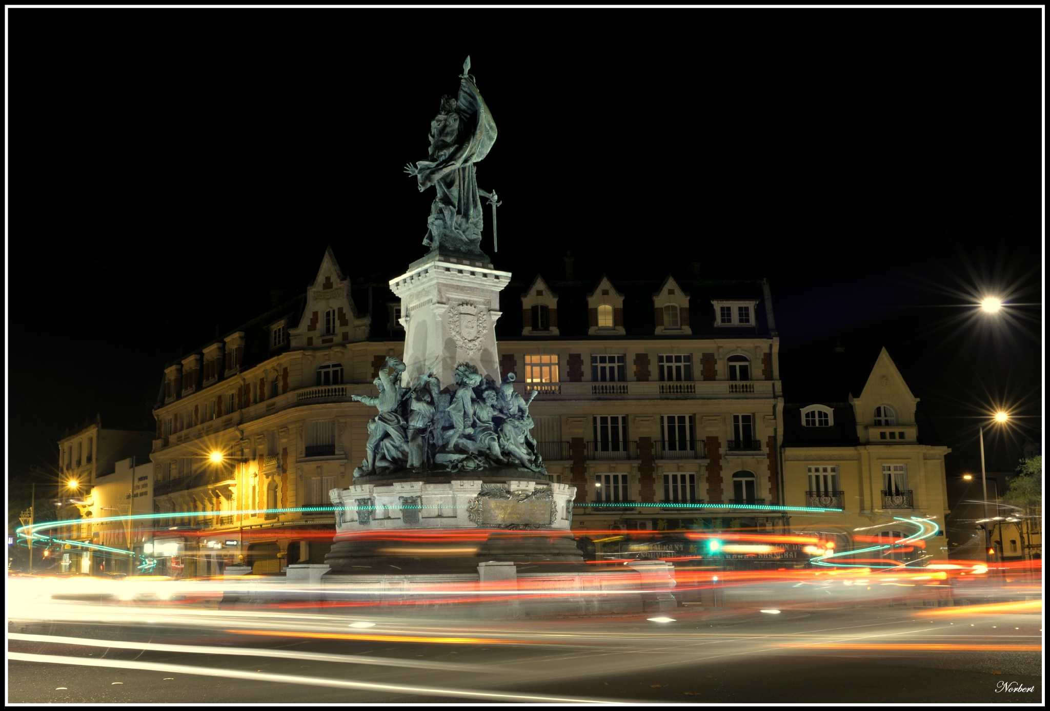 Saint-Quentin by nigth 2014