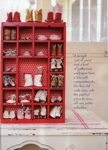 Comment ranger l gamment les chaussures de b b le - Comment ranger les chaussures ...