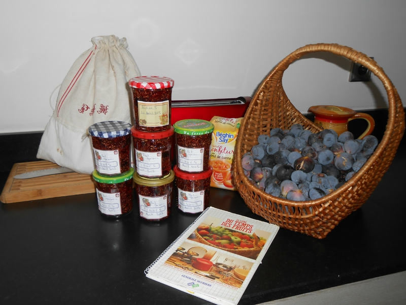 confitures figues 2015 - 2