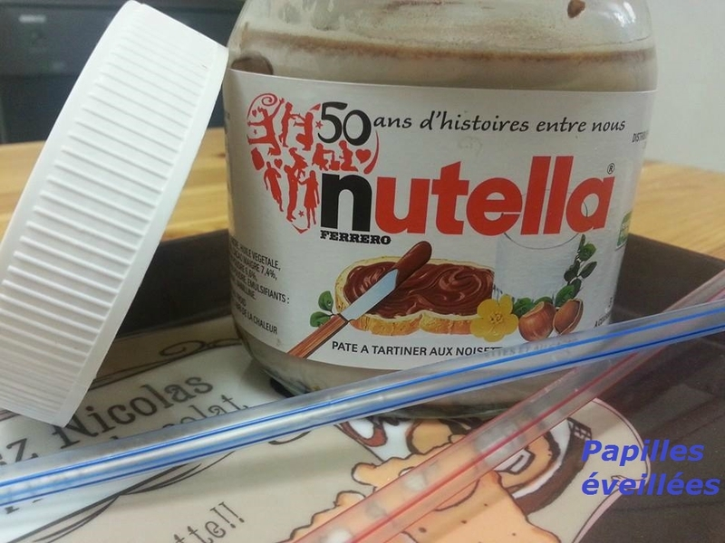 Lait chaud au nutella