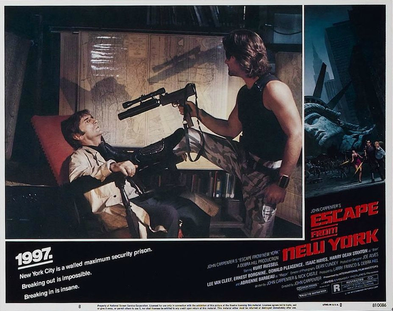 Escape from New York lobby card 2