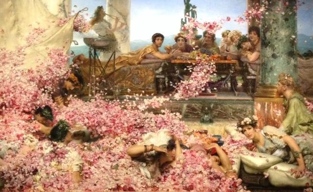 6 Sir Laurence Alma Tadema, les roses d'heliogabale, Désirs et volupté à l'époque victorienne, Jacquemart André