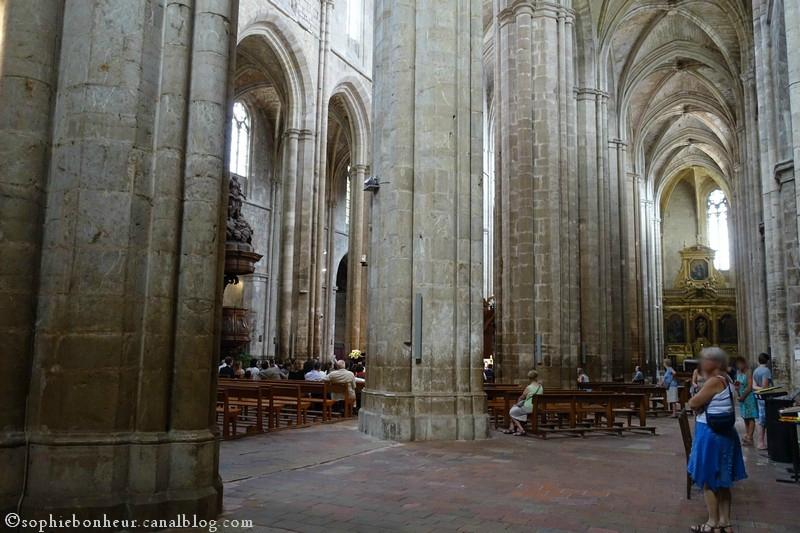 basiliques colonnes