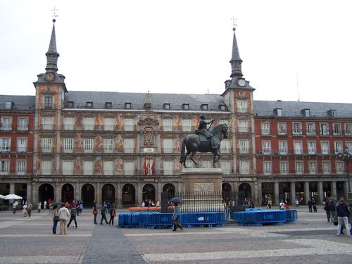 Madrid-Plaza Mayor général