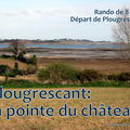 PLOUGRESCANT: la pointe du chteau