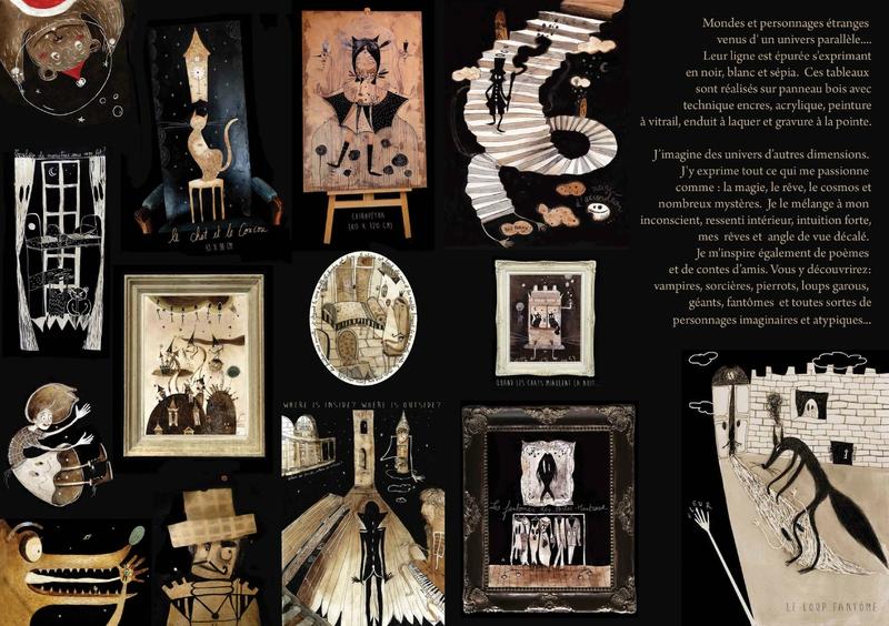 Brochure Fleur Claireux strange people intérieur rgbjpg