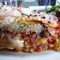 Lasagnes à l'agneau et à l'aubergine