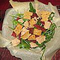 Salade croquante du sud-ouest