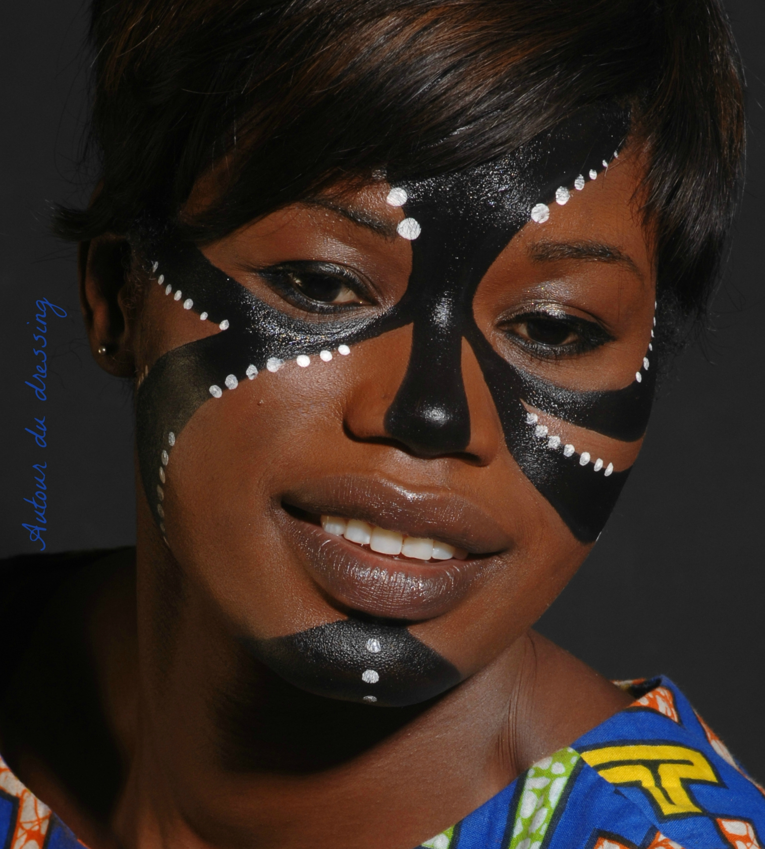 Pin maquillage tribal on pinterest - Maquillage pin up ...