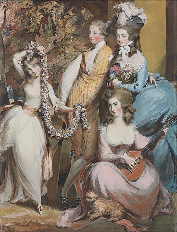 "J. Paul Getty Museum opens ""Fashionable Likeness: Pastel Portraits in 18th-Century Britain"""