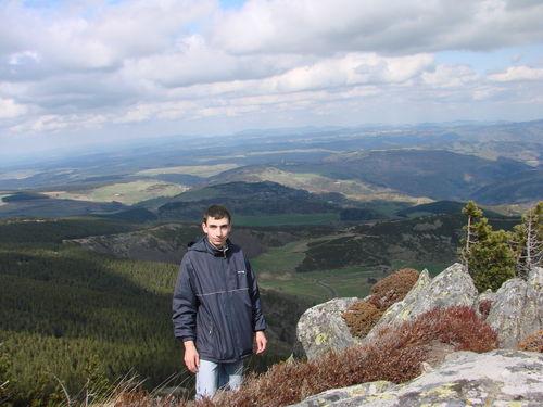 2008 04 24 Cyril au Mont Mézenc