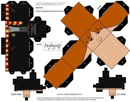 Ron Weasley Cubeecraft