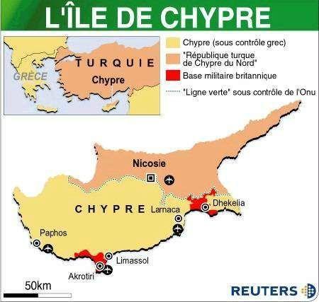 Chypre le partage