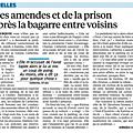 Des amendes et de la prison