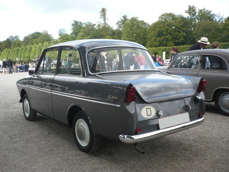 DAF 750 berline 1963 Schwetzingen (2)