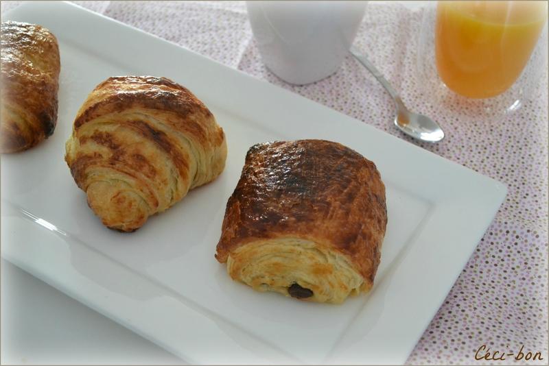 Croissants et petits pains