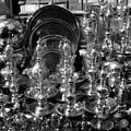 Marchand d'or au souk de Khan Khalili, Le Caire