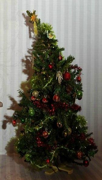 Sapin décoré 002