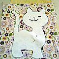 La chatte en tissus, ou chat