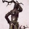 saint Sébastien bronze