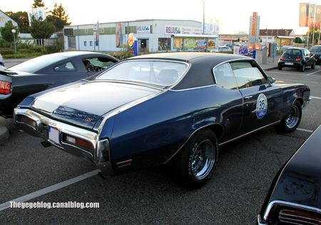 Buick GS 455 hardtop coupe de 1971 (Rencard Burger King septembre 2012) 02