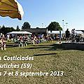 Costiciades à coutiches (59) les 7 et 8 septembre 2013