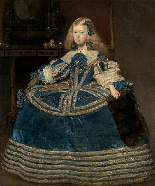 Velázquez masterwork 'Infanta Margarita in a Blue Dress' at Meadows Museum for 50th anniversary
