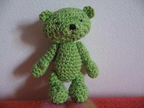 1 - Louis - ours amigurumi - Juillet 2006