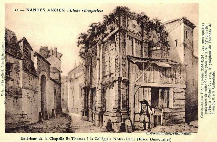 Nantes ancien - Chapelle St-Thomas