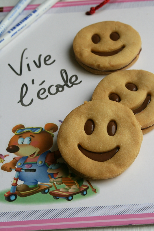 Sablés smilys au chocolat - Biscuits sourire 2