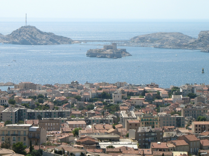 Marseille, château d'If vue de Notre-Dame (13)