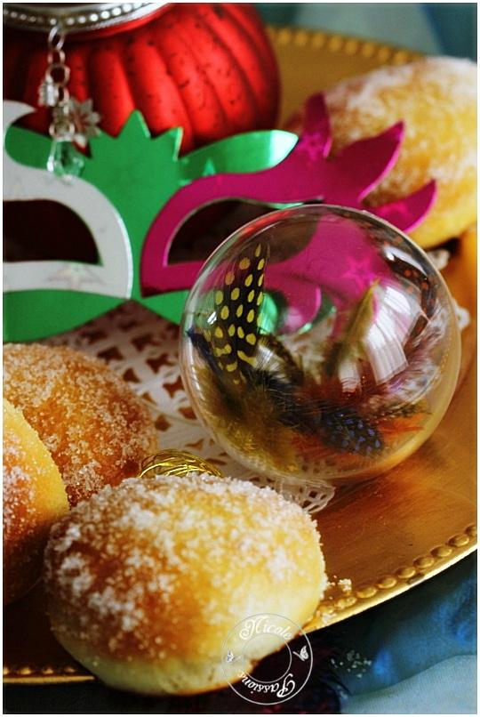Mardi gras et beignets au four....