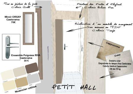 PLANCHE DECO - Petit Hall