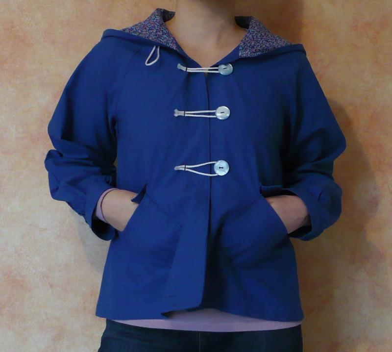 duffle coat poches couture japonaise