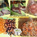 Lentilles au lait de coco, curry et cuisses de dinde