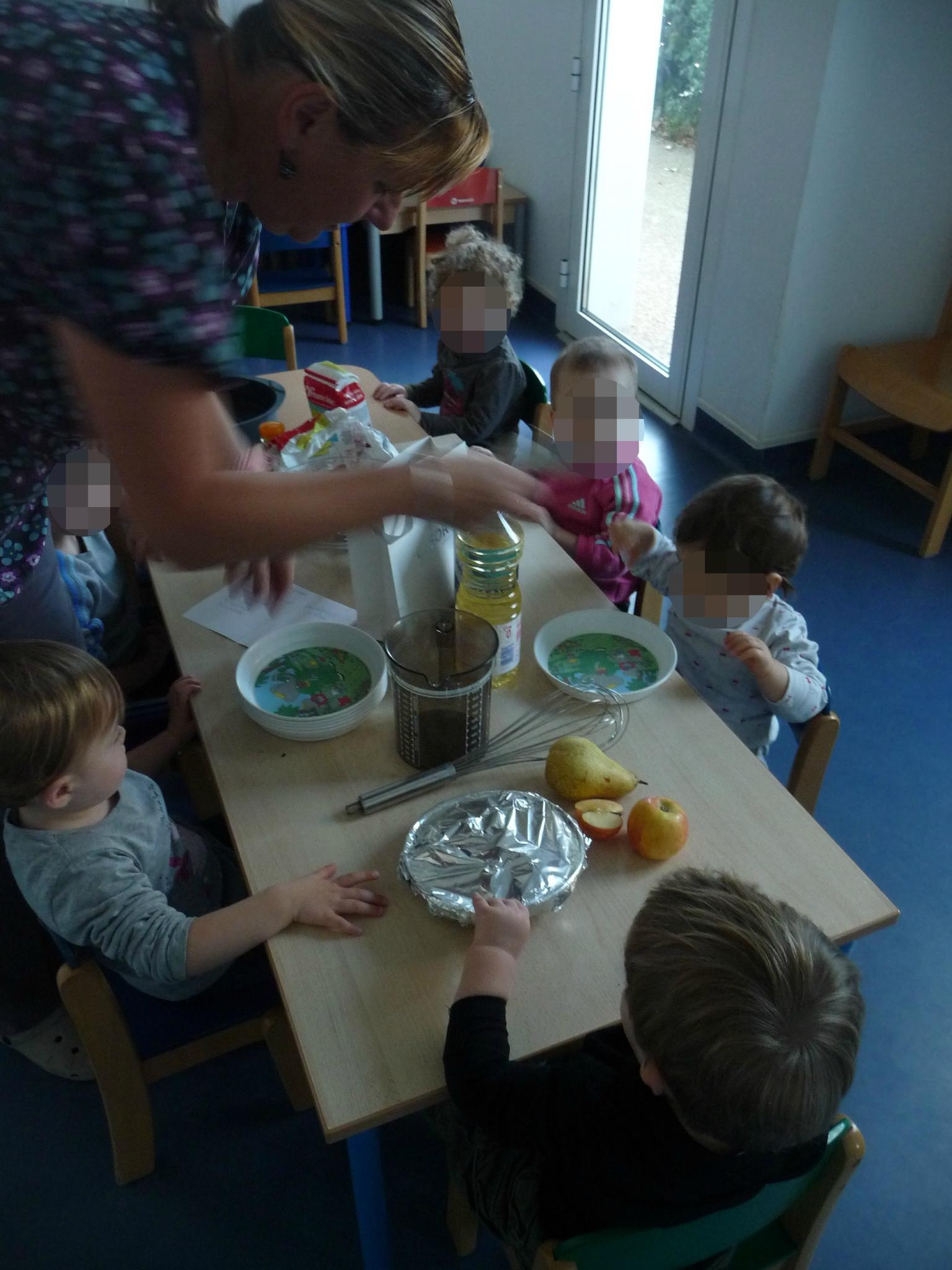 Atelier cuisine la cr che de s rignan nounou b ziers villages - Atelier cuisine en creche ...