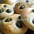 Petit pain olive/thym