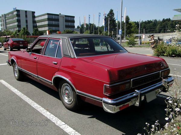 mercury monarch 4door sedan 1975 1977 b