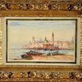 Flix Ziem (1821-1911), Vue de Venise